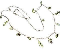michael michaud retired acorn oak 36 inch necklace 8324 rel 135