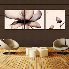 sepia flower ready to hang 3 panel set digital wall art print mounted on fiberboard on sepia canvas wall art with  sepia flower ready to hang 3 panel set digital wall art print