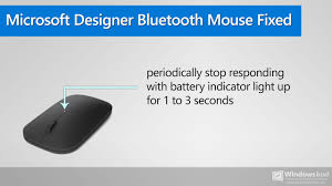 Microsoft Designer Mouse Review How To Fix Microsoft Designer Bluetooth Mouse Stops