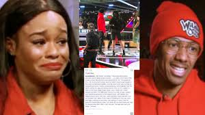 Azealia Banks Cries On Nick Cannon Wild N' Out Show Over Remarks.