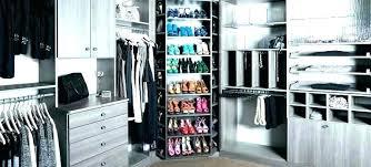 rotating closet rod revolving rack best shoe for home design rotating closet systems revolving organizer