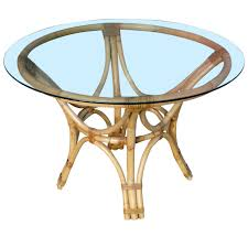 Bentwood Dining Table Bent Wood Dining Table With Round Glass Top