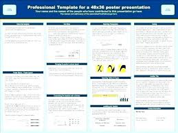 poster format powerpoint science research poster scientific research poster template