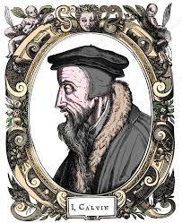 Jean Calvin, French theologian, 1581 - Stock Image - C040/9728 - Science  Photo Library
