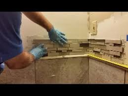 how to install mosaic tile on an inside corner glass mosaic tile you