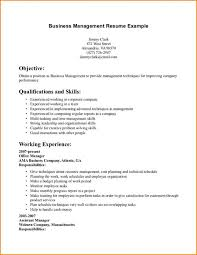 Cover Letter Business Resume Objectives Business Resume Objectives