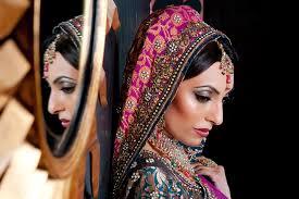 asian bridal makeup view image
