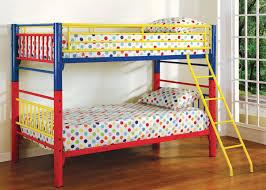 multicolor bunk bed
