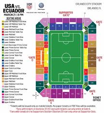 Eye Catching Orlando City Stadium Map Orlando City Stadium