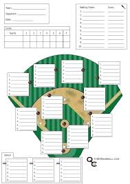 A Soccer Roster Template And Little League Baseball Lineup