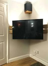corner tv stand diy wall mounted corner stand left over floor boards corner tv cabinet plans