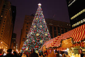 christmas tree lighting chicago. What To Do In Chicago, Chicago Christmas Events, Events Tree Lighting