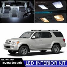 16PCS White Interior LED Light Package Kit For 2001 - 2007 Toyota ...