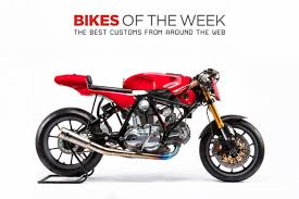custom bikes of the week 22 april 2018 the best cafe racers scramblers