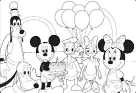Mouse Coloring Top Free Printable Mickey Mouse Coloring Pages Online