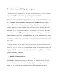 Calaméo Annotated Bibliography Assignment