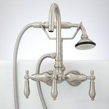 Wall Mounted Kitchen Faucet With Sprayer — The Decoras Jchansdesigns