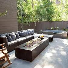 patio designs with fire pit and hot tub. Modern Outdoor Fire Pit Ideas Patio Designs With And Hot Tub
