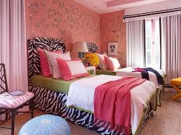 Bed Linen Decorating Beautiful Bedroom Layout Ideas For Teenage Girls With Floral Wall