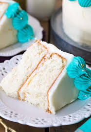 white cake on a white plate