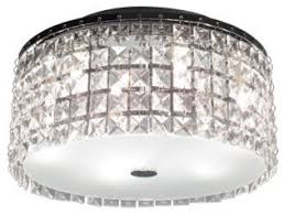 glam lighting. Bazz Lighting PL3413CC Glam Series 3 Light Flush Mount Ceiling Fixture Glam Lighting C