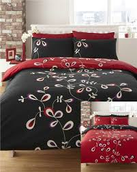 red black duvet cover the duvets