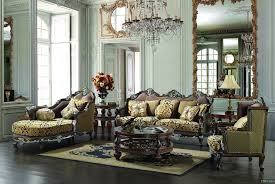 Upholstered Living Room Chair Paris Living Room Set Traditional Upholstery French European