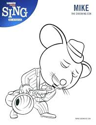 Disney Movie Coloring Pages From Descendants Coloring Page Free