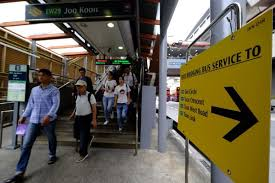 Free shuttle bus services will be available between Joo Koon and Gul Circle  MRT stations.