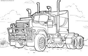 Camions Coloriages Des Transports Page 2