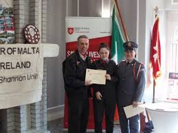 Claudia Dempsey receiving Cadet of the... - St. Patrick's ...