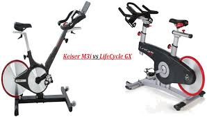 keiser m3i spin bike vs lifecycle gx