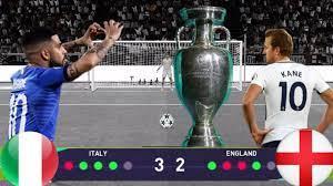 إيطاليا وإنجلترا ركلات ترجيح مثيره pes2021 - YouTube