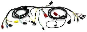 head light wiring harness w o tach non gt 1967 alloy metal products