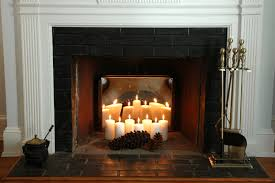 Fireplace On Candles Pinterest