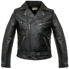 nu jeans ziggy punk leather black motorcycle jacket 160411