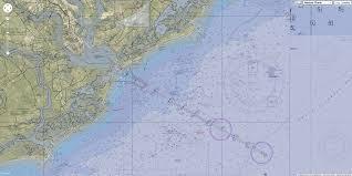 Charleston Nautical Chart Geogarage Blog New Nautical Chart For Charleston Harbor
