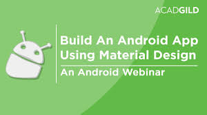 How to Build an Android App Using Material Design   Android Material ...
