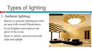 types of interior lighting. Types Of Interior Lighting A