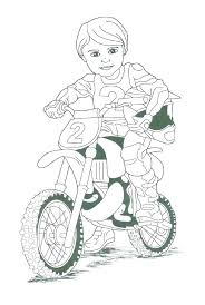 Bike Coloring Page Dirt Bikes Pages Printable That We Can Print