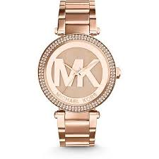 <b>Часы Michael Kors</b> Parker Rose Gold-Tone Stainless Steel <b>Watch</b> ...