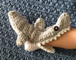 Crochet Shark Slippers Pattern Free Unique Crochet Baby Shark Slipper Socks With Teeth And Fins Made To