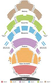 Kauffman Center For The Arts Seating Chart Kansas City