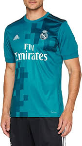 Men's real madrid 2017/18 away patch custom jersey is a free transparent png image carefully selected by pngkey.com. Amazon Com Adidas Real Madrid Third Shirt 2017 18 Adults Medium Clothing