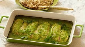 baked tilapia with coconut coriander sauce