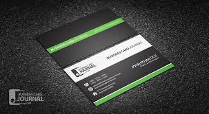 business card psd template clean professional corporate business card design
