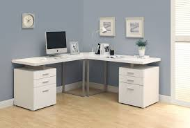 bay window desk home office modern. corner study desk with hutch modern white high gloss finish office soft grey wall color solid wood trays bay window inside home
