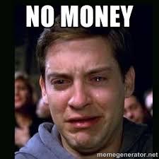No money - crying peter parker | Meme Generator via Relatably.com