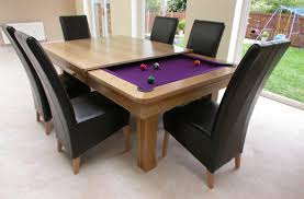 awesome pool table dining table bo