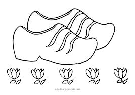 Bloemen Kleurplaat Klompen Kleurplaten Voor Jou